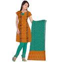 Bandhani Orange Suit