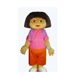 Fiber Cartoon Dora Statue