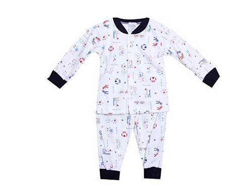 d4cabcb0a9 Cotton Pikaboo Baby Night Suit For Boys And Girls, Rs 799 /piece ...