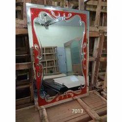 Decorative Gel Mirror, Shape: Rectangular