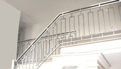 SS Staircase Design Railing