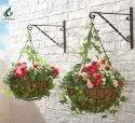 COIR GARDEN 10 Inch Coco Coir Hanging Basket