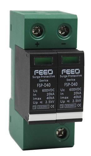 FEEO 600V DC Class II Surge Protection Device SPD for Solar Application
