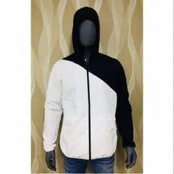 Black, White Full Sleeve Men's Designer Jacket