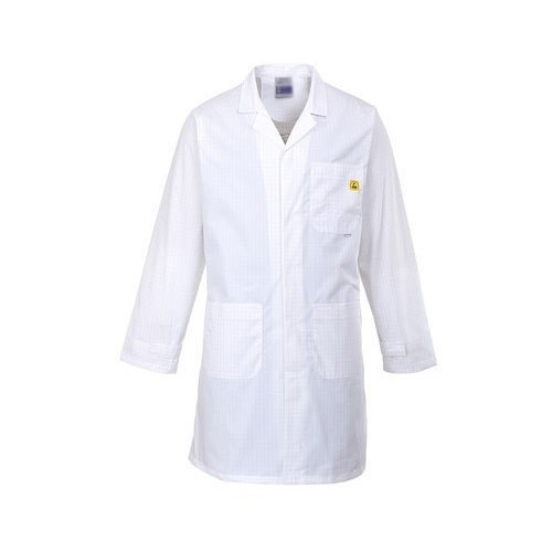 Large White Anti Static Coat
