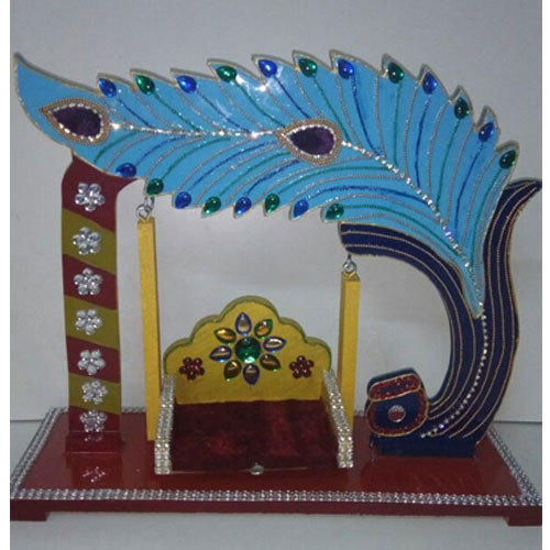 morpankh design krishna swing