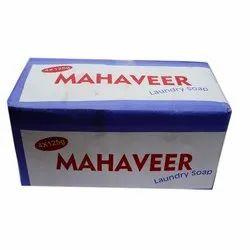 Lemon Mahaveer Laundry Soap, Packaging Size: 125 Gm
