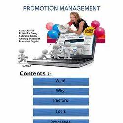 Promotion Management Services