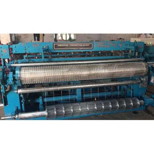 Automatic Welded Wire Mesh Fencing Machine तार मेष मशीन