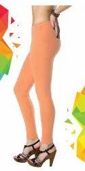 Cotton+Lycra Plain Women Trendy Legging, Packaging Type: Packet