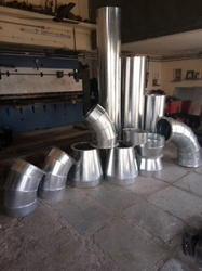 SS Round Duct Bend