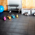 Low Budget Super Strong Exercise Gym Floor Mat - Interlocking (Non Pastable)