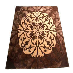 Wool Hand Tufted Carpet, Size: 4 X 5 Feet