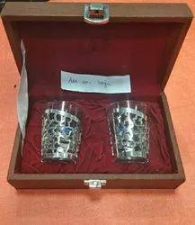 Silver Shot Glass, Size: Regular