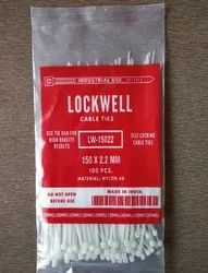 Lockwell Cable Tie 150 x 2.2 White