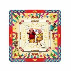 Plastic 26'' Kids Carrom Boards, Border Size: 55655