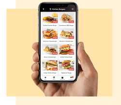Digital Menu Card for Restaurants