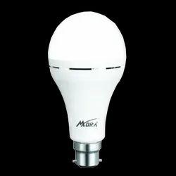 Mora 9watt 9W AC/DC Inverted LED Bulb (B22), for Indoor
