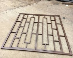 Iron Window Grills square foot