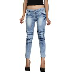Zadine Ripped Torn Wash Women Jeans