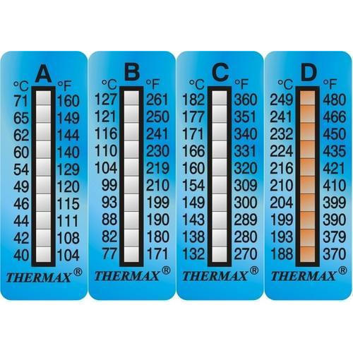 Temperature Irreversible Stickers Irreversible Strips