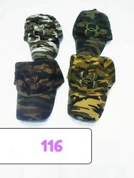 Embroidery Military Cotton Styles Caps Code 116