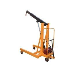 Manual Mobile Floor Crane
