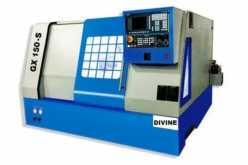 DIVINE DIC130 Flat Bed CNC Lathe Machine, Maximum Turning Length: 270mm