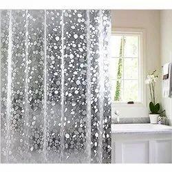 Transparent Printed Bathroom Curtains Rs 200 Piece Bharat Textiles Id 21312259530