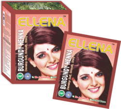 Ellena Burgundy Henna Hair Color