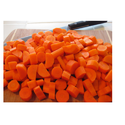 Carrots Cut Size