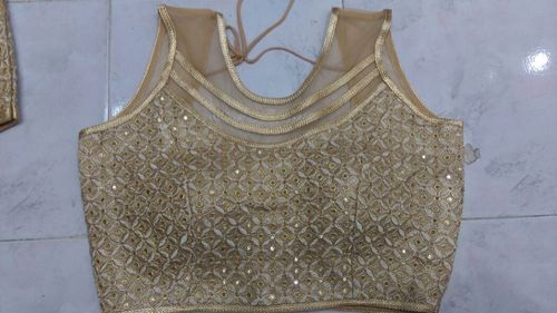 Golden Ready Blouse At Rs 150 Piece Readymade Blouse