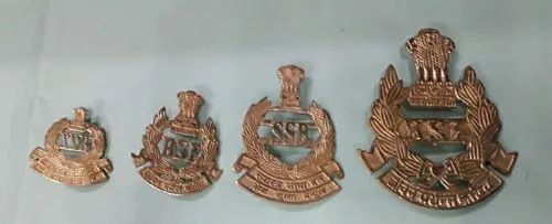 Indian Armed Forces Brass Badges