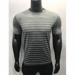 Men Printed Sports T-Shirt