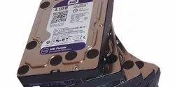 HDD SATA WD Purple Hard disks 1Tb/2TB/4TB/6TB/8TB, For Cctv Surveillance Backup, Memory Size: various