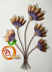 Wrought Iron Flower Bunch