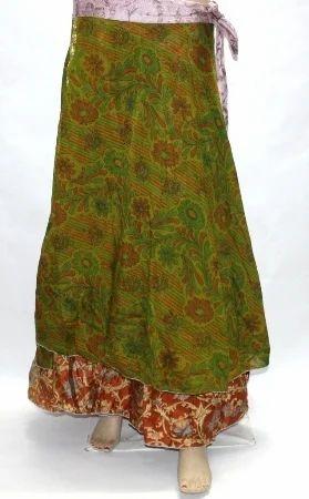 8ad5c650b3cd Silk Printed Long Vintage Wrap Skirt, Rs 250 /piece, Nivisaa ...