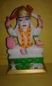 Marble Laxmi  Statue Colorful