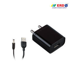 USB Adaptor With Grip Tag DC Pin 5VDC-2Amp