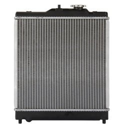 Aluminium Honda City Radiator, For Automobile, Synthetic Liquid