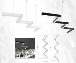 LED Contemporary Linear Hanging Lights for Decoration