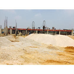 Commercial Concrete Frame Structures Hospital Building Construction Service