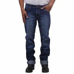Faded Regular Fit Sylvi Indigo Mens Jeans, Waist Size: 32 And 36