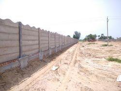 RCC Folding Concrete Compound Wall