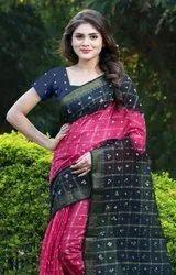 New Bandhani Checks Art Silk Saree