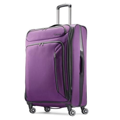 94973578bb American Tourister Large Checked Luggage Bag - American Tourister Sonic 28  Inch Spinner Luggage Bag (Purple Print) Manufacturer from Mumbai