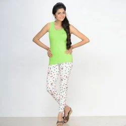 Ladies Printed Legging, Size: Large