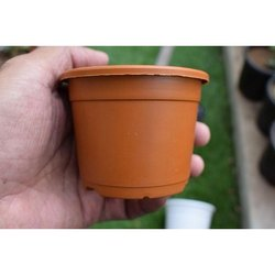 Small Round Plastic Pot