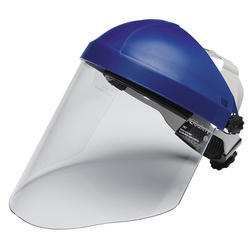 Ratchet Type Face Shield