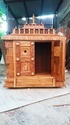 4 Feet Ashtalakshmi  Teakwood Divine Temple